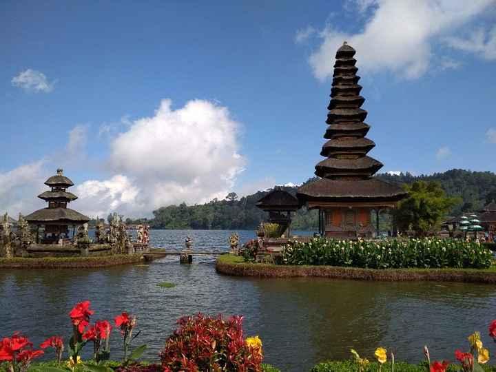 Pura Ulun Danu Bratan - o templo sob o lago