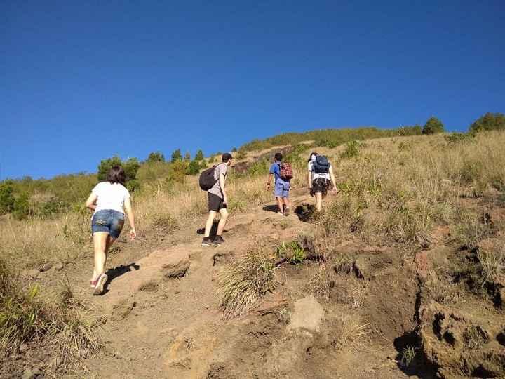 A subida do vulcão foi dura, mas quando chegámos la a cima valeu tão a pena. Para terem noção da alt