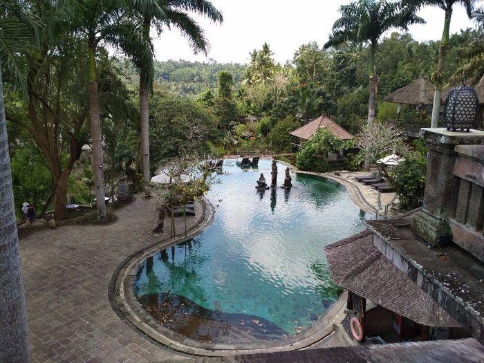 O hotel Payogan villa resort and spa é uma floresta com casinhas tipo bungalow, de sonho