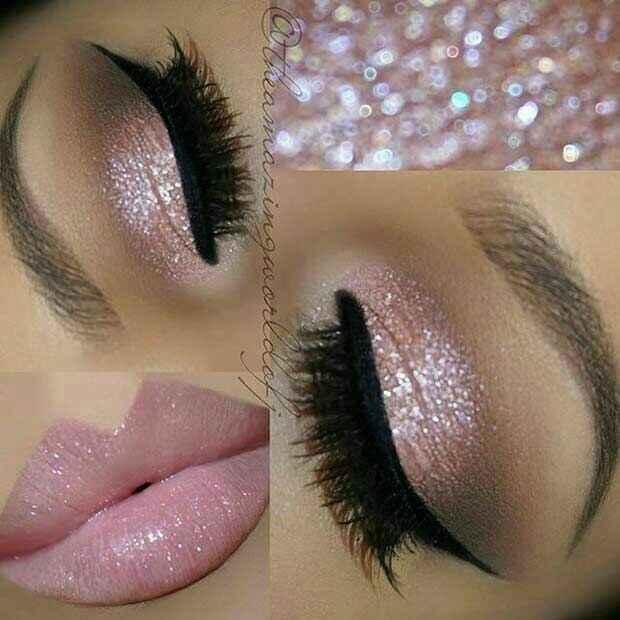 Inspirações de make-up bem pronunciadas - 1