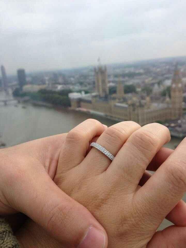 Mostrem o vosso anel de noivado - 1