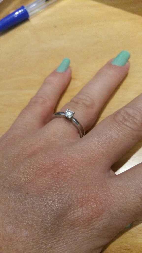 Mostrem o vosso anel de noivado - 2