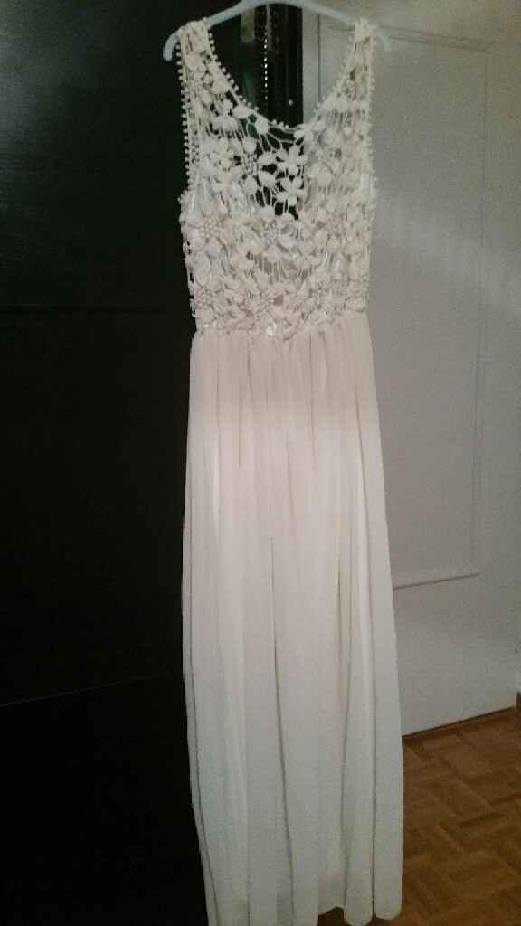 O meu vestido do dia seguinte. - 1