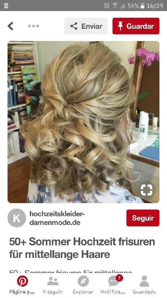 Inspiração para penteado - 1