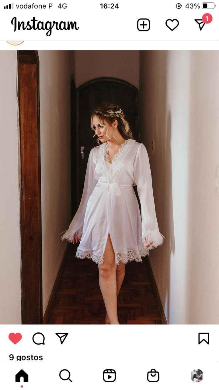 Robe de noiva. - 1