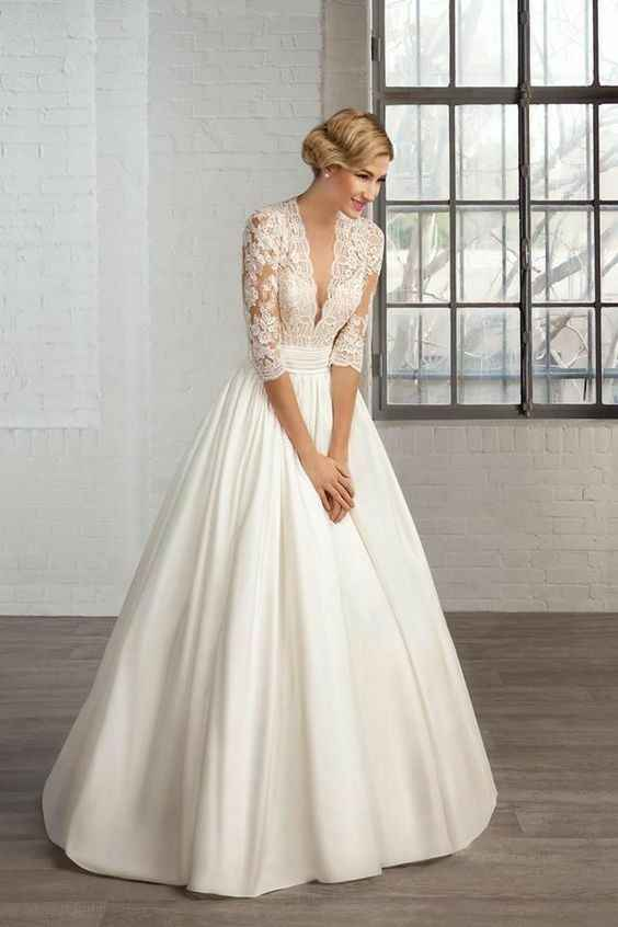 Vestido de noiva com ou sem cauda? - 4