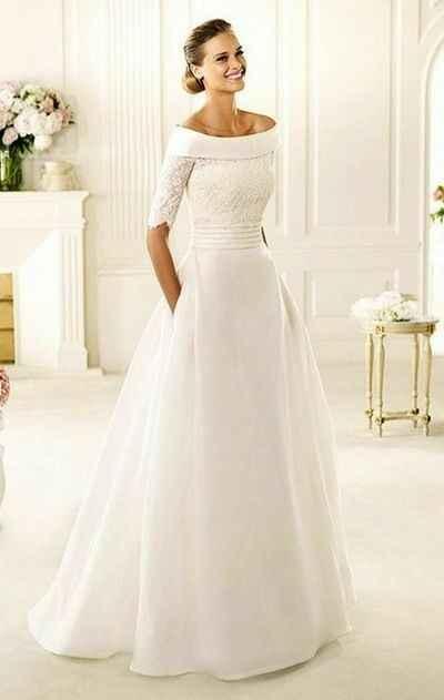 Vestido de noiva com ou sem cauda? - 5