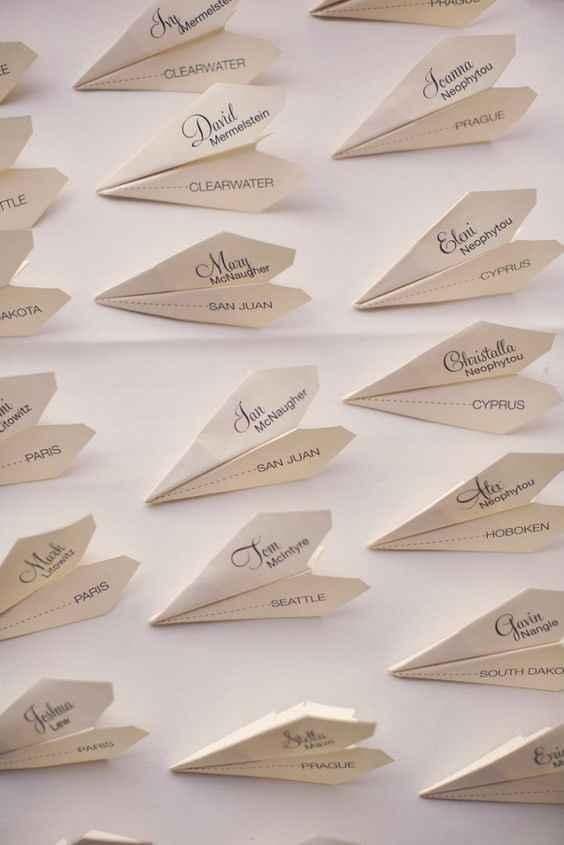 """Olá a todas, Alguém sabe como fazer ou tem """"molde"""" em word para fazer estes aviões com nome? Obrigad"""