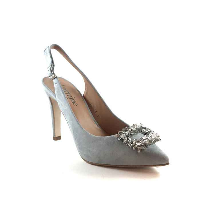 Sapatos azul dusty ou rosa velho coral??? - 2
