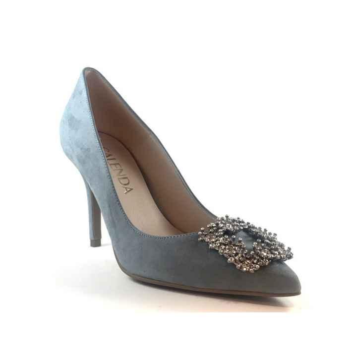 Sapatos azul dusty ou rosa velho coral??? - 3