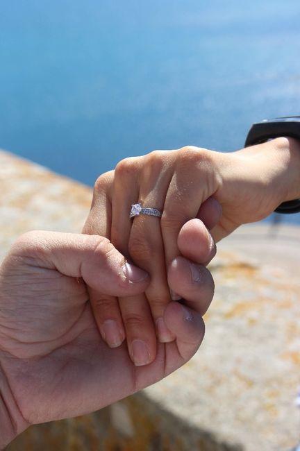 Bora partilhar o nosso anel de noivado? 💍😍 20