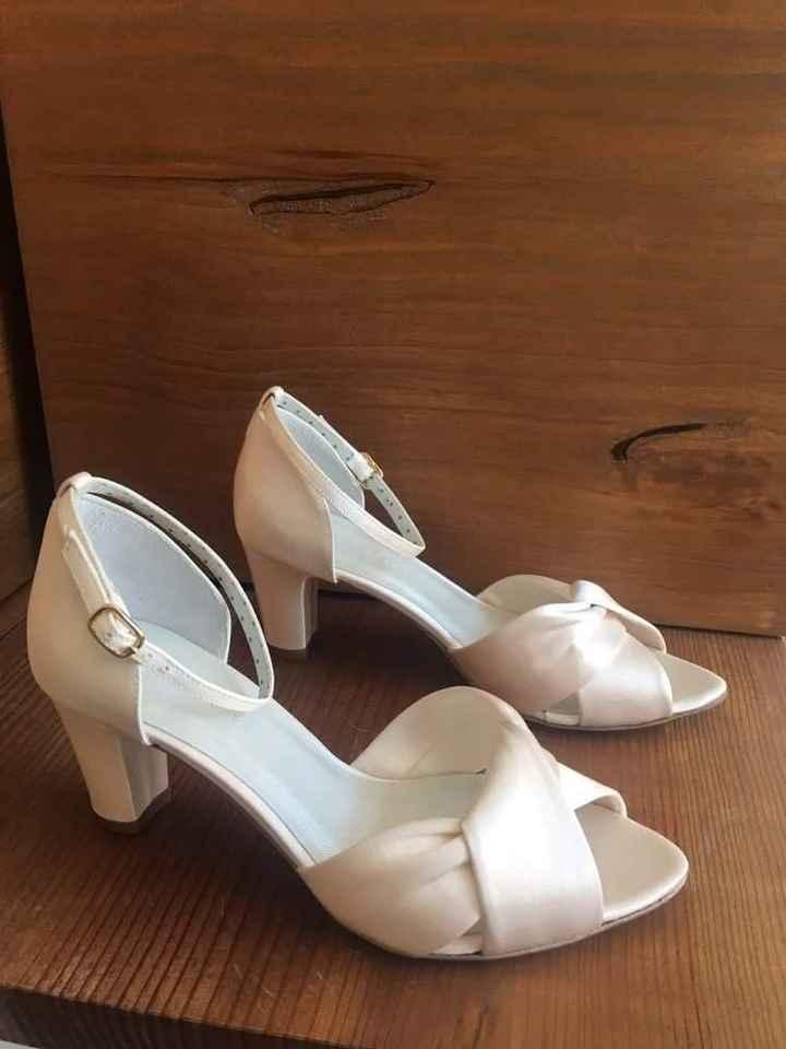 Sandálias de noiva com 4 cm. Onde comprar no Algarve - 1