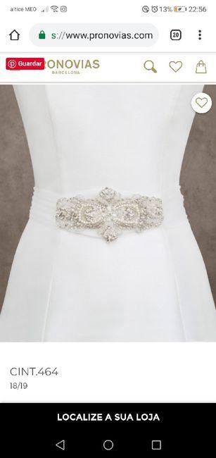 Cinto de noiva - 1