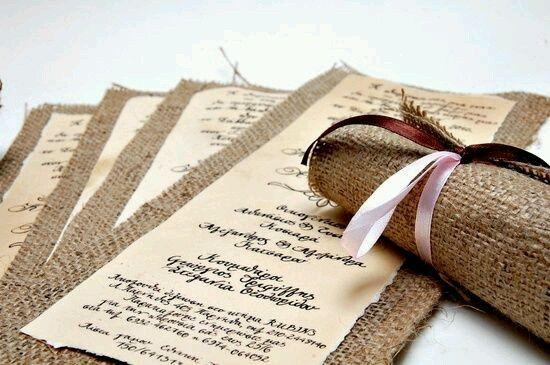 Os nossos convites de casamento - serapilheira - 1