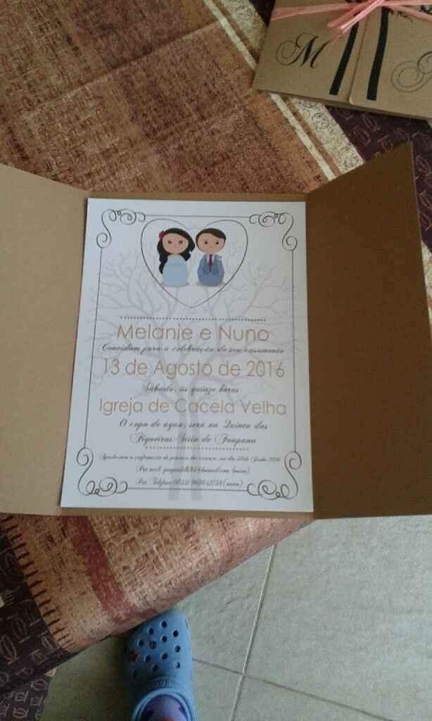 Convites... - 2