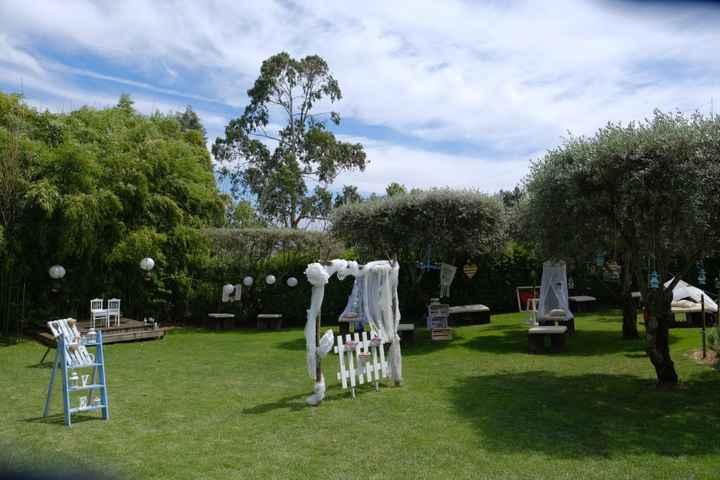 Decoração do Jardim da Quinta - 4