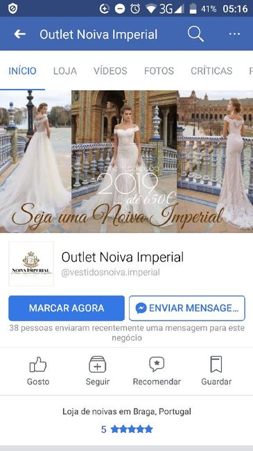 Loja Outlet Noiva Imperial 1