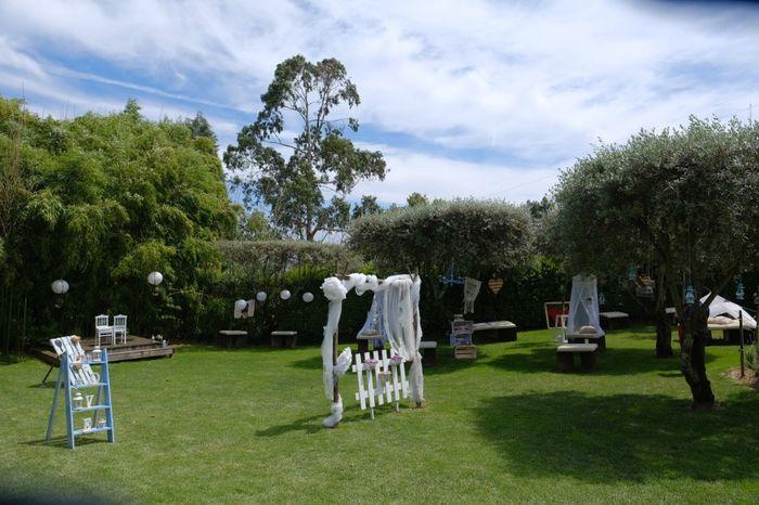 Decoração do Jardim da Quinta 4