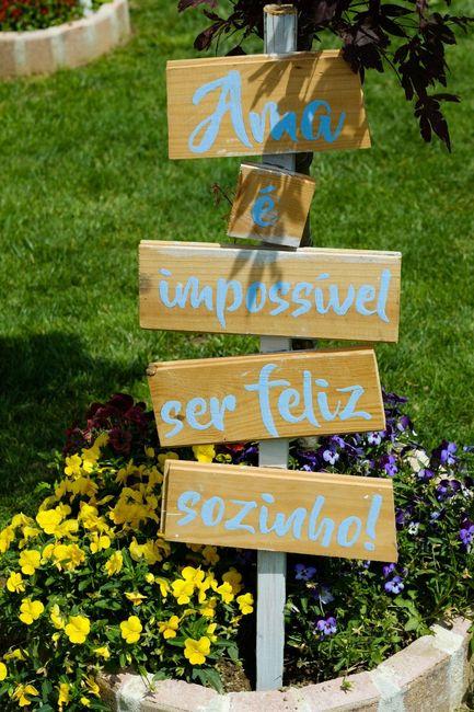 Decoração do Jardim da Quinta 22