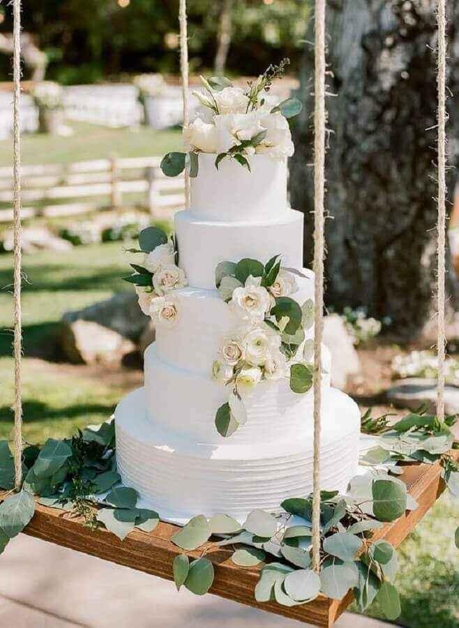 As cores do meu casamento Greenery: verde, branco e alguns apontamentos em Dourado ❤ - 2