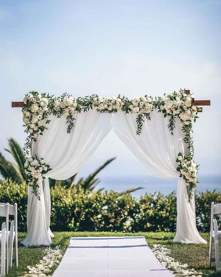As cores do meu casamento Greenery: verde, branco e alguns apontamentos em Dourado ❤ - 3