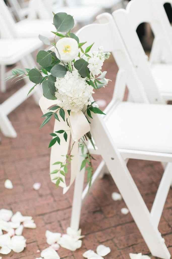 As cores do meu casamento Greenery: verde, branco e alguns apontamentos em Dourado ❤ - 4