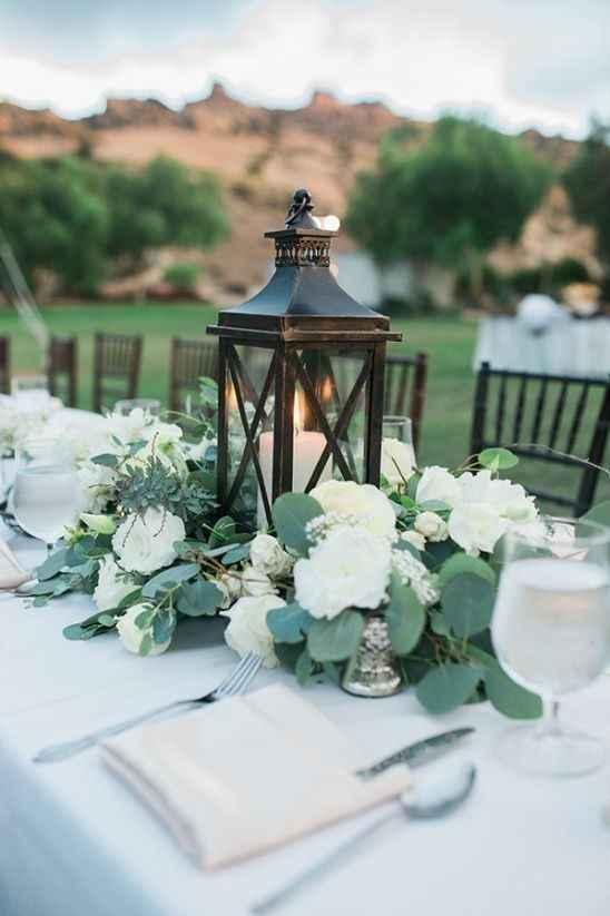 As cores do meu casamento Greenery: verde, branco e alguns apontamentos em Dourado ❤ - 7
