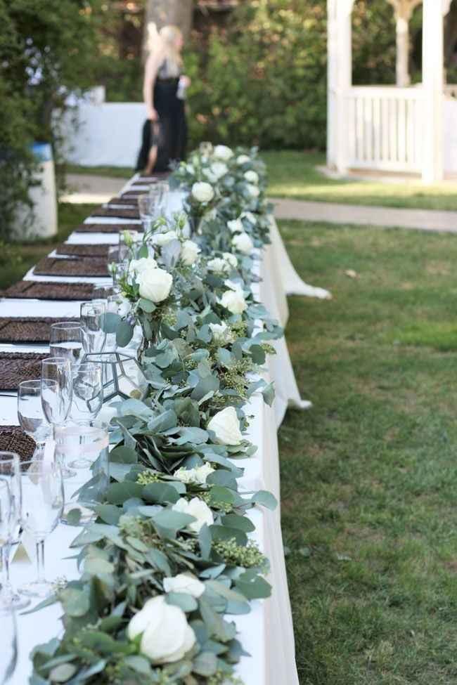 As cores do meu casamento Greenery: verde, branco e alguns apontamentos em Dourado ❤ - 8