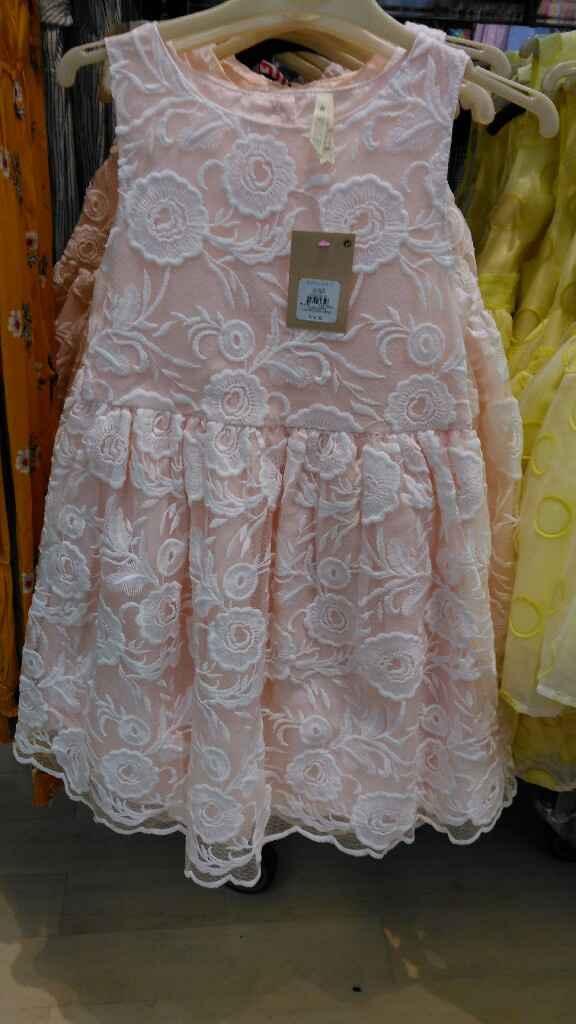 Vestidos para daninhas/meninas das alianças/meninas das flores - 1