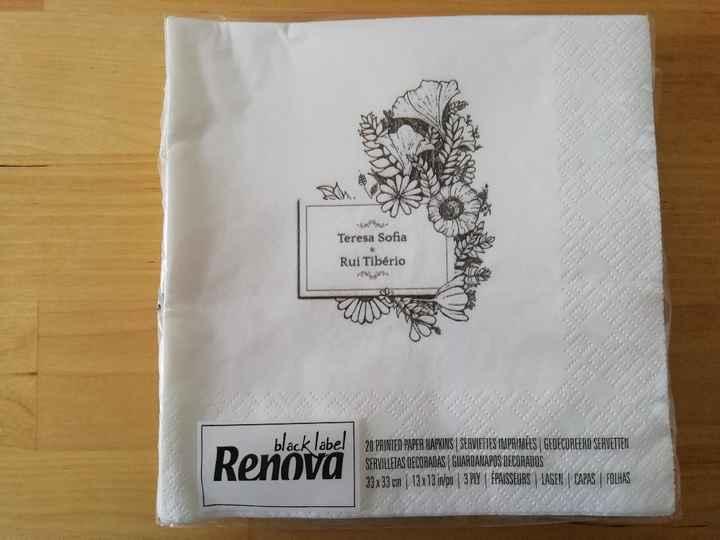 Renova made by you Guardanapos - 1