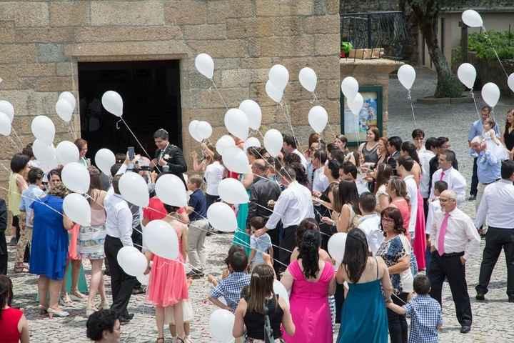 Largada Balões Igreja