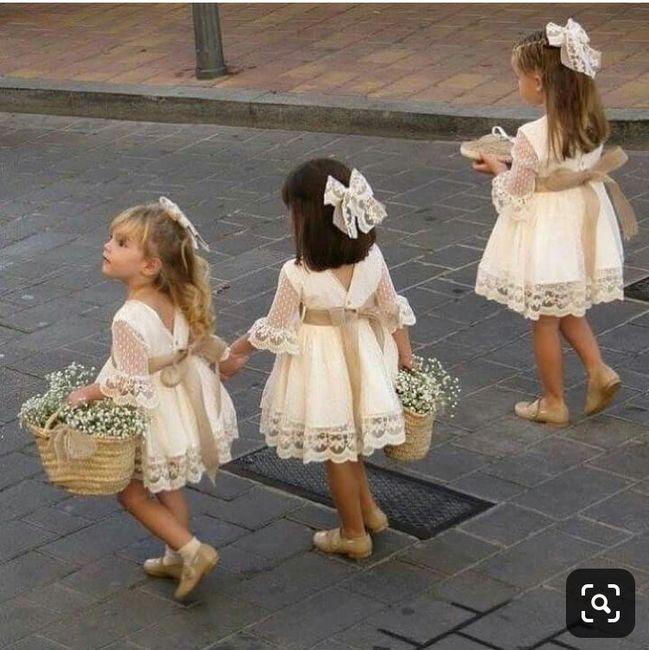 Vestido Meninas das Alianças 3