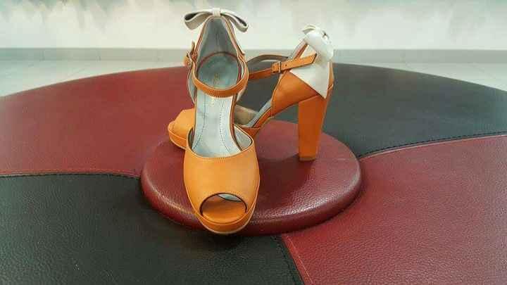 Cor dos sapatos - 1