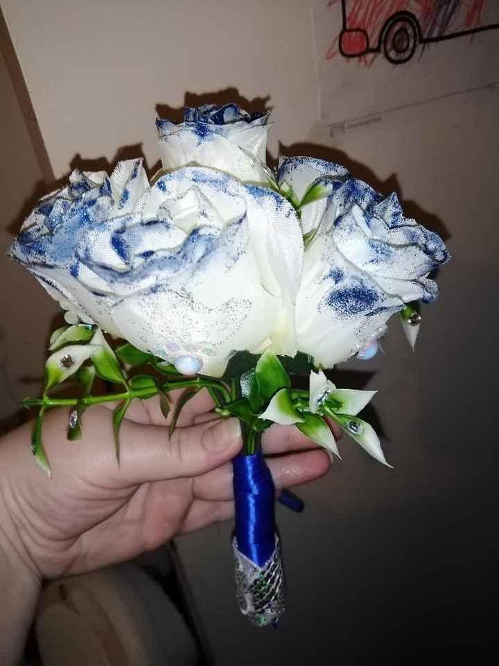 Bouquet em miniatura feito por mim - 1