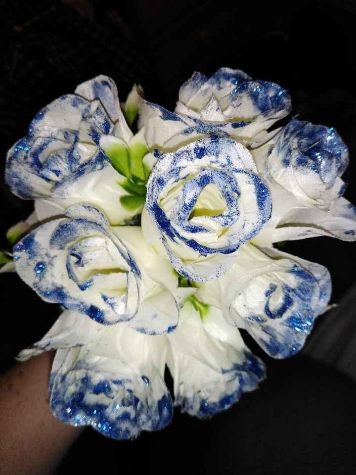 Bouquet em miniatura feito por mim - 3