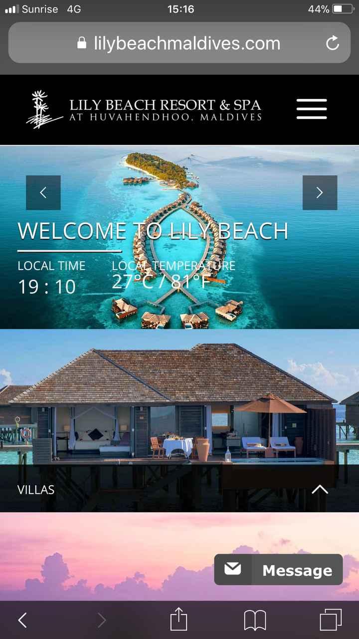 Maldivas - Lily Beach - 1