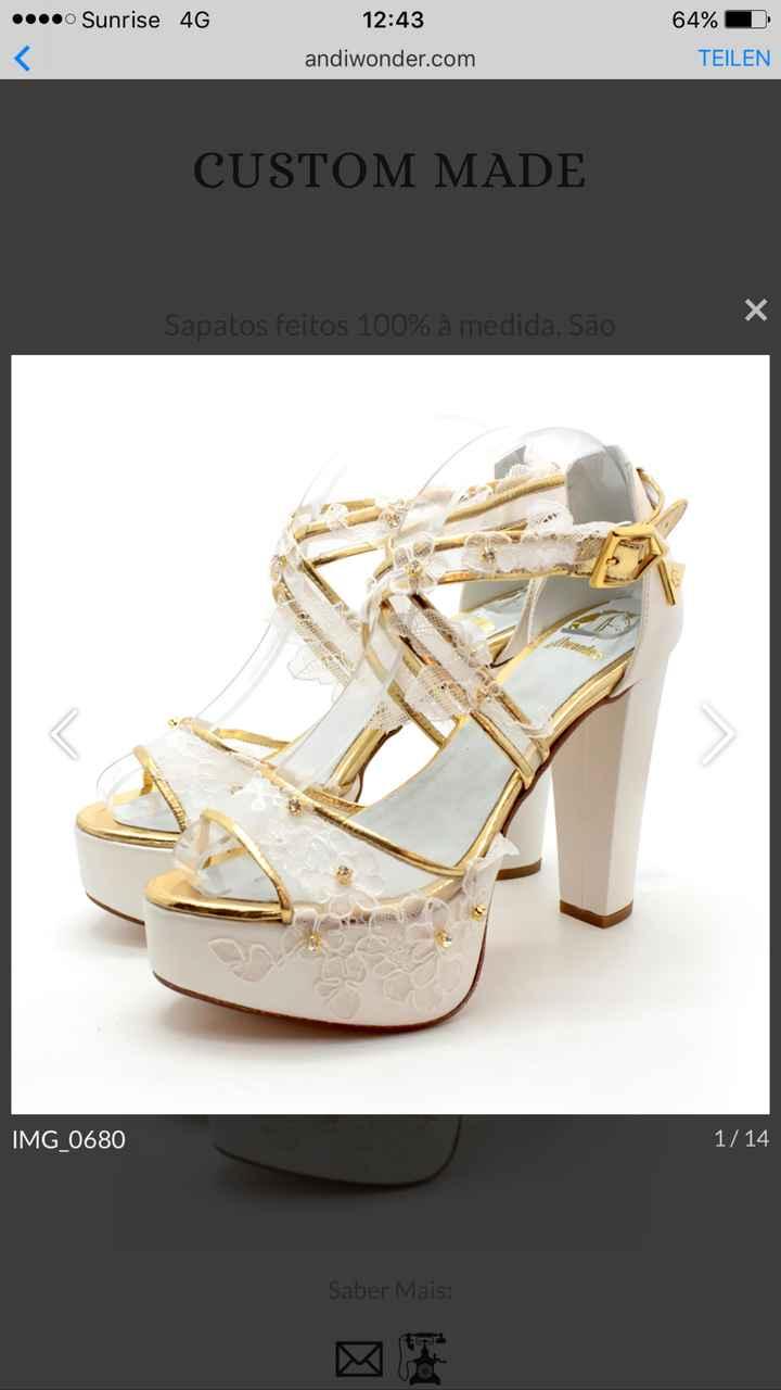 Sapatos da Noiva - 1
