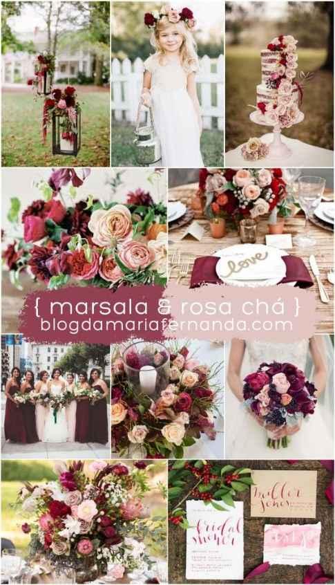Marsala & Rosa Cha