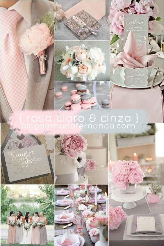 Rosa Claro & Cinza