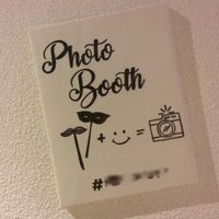 Plaquinha Photo Booth