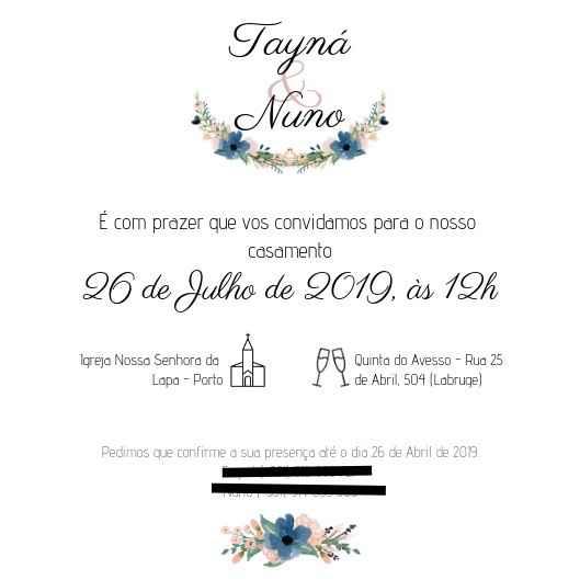 Convites Porto - 2
