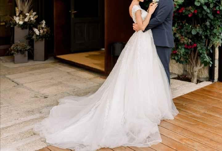 Vendo vestido de noiva Susanna Rivieri - 1