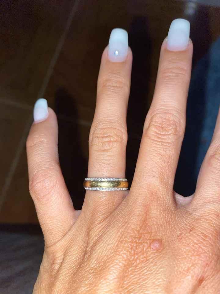 2 alianças de casamento: vota! - 1