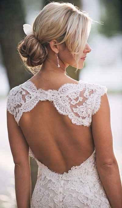 Vestido sem costas