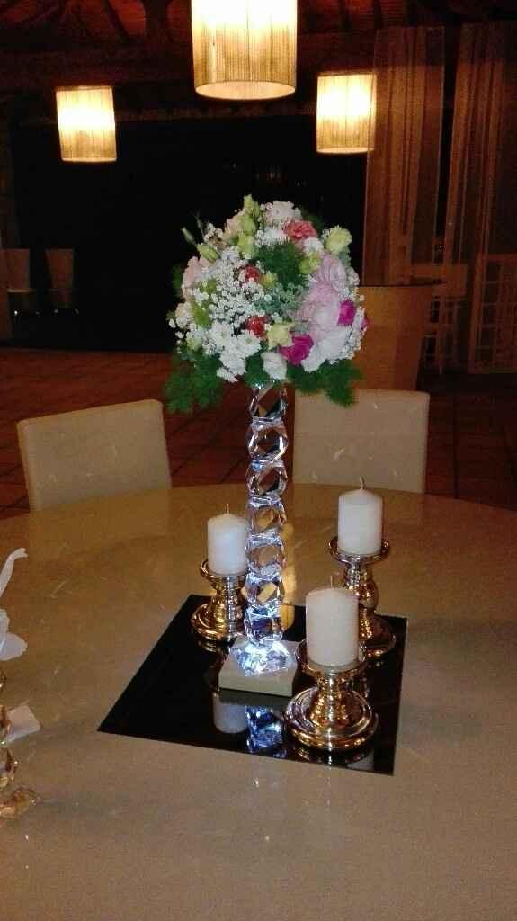 Decoração mesas - 1