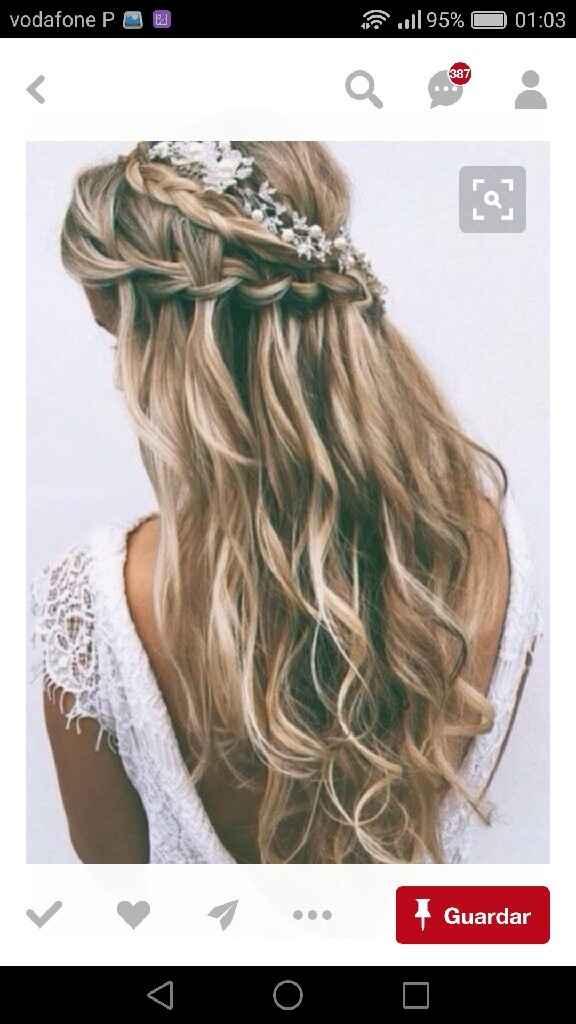 Penteado para tipo de vestido - 1