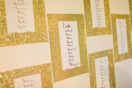 Inspirações para o Mês Dourado: Seating Plan 24