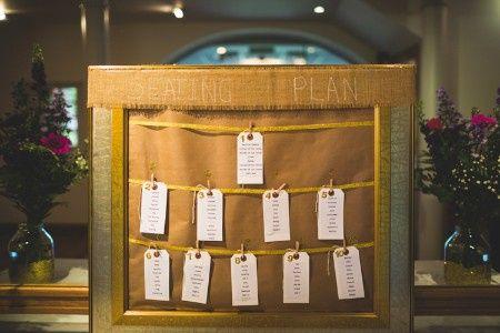 Inspirações para o Mês Dourado: Seating Plan 28