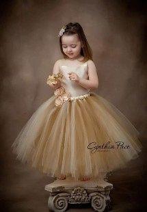 Inspirações para o Mês Dourado: Vestidos para Daminhas 3