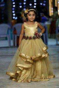 Inspirações para o Mês Dourado: Vestidos para Daminhas 10